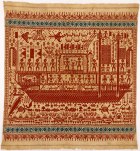 Working Title/Artist: Ceremonial textile (tampan) Department: AAOA Culture/Period/Location: HB/TOA Date Code: 10 Working Date: 19th century photography by mma, Digital File DT1852.tif retouched by film and media (jnc) 10_27_09